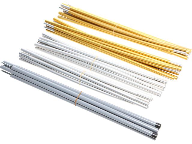 Nordisk Reisa 6 PU Sparpole Set, Aluminium